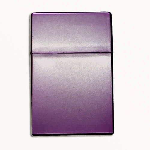 Zigarettenbox Kunststoff 20er Box Lila