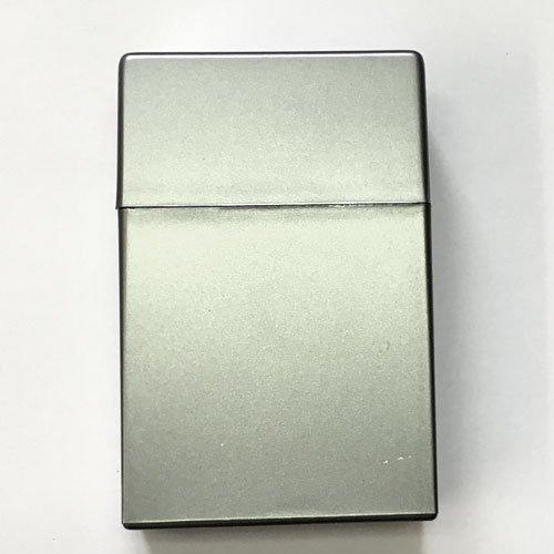 Zigarettenbox Kunststoff 20er Box Silber