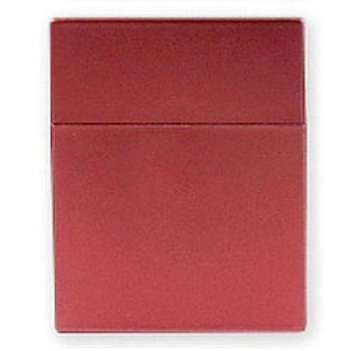 Zigarettenbox Kunststoff 25er Click Box Rot