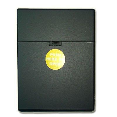 Zigarettenbox Kunststoff 25er Click Box Schwarz
