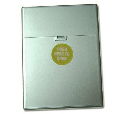 Zigarettenbox Kunststoff 30er Clic Boxx Silber