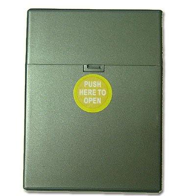 Zigarettenbox Kunststoffteilen 30er Clic Boxx anthrazit