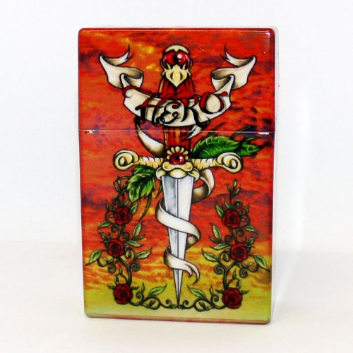 Zigarettenbox Tattoo Design No 2