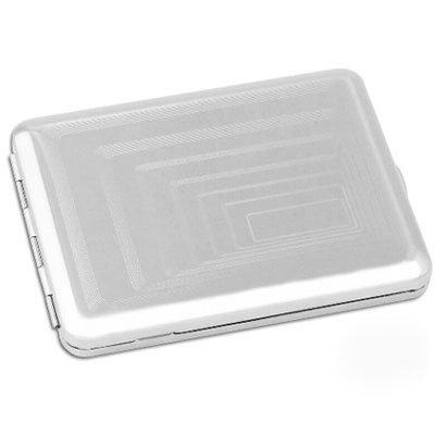 Zigarettenetui Metall 18er 100 mm Nickel chrom poliert Rechtecke Clip