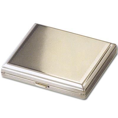 Zigarettenetui Metall Punkt-Dekor