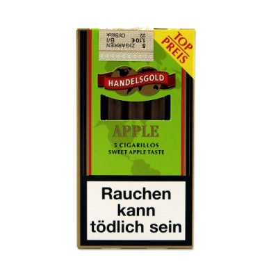 Zigarillos Handelsgold Green (Sweets Apple)
