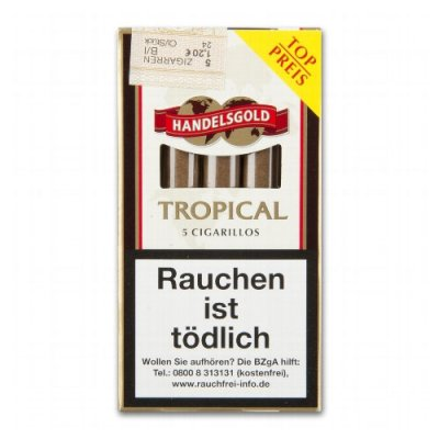 Zigarillos Handelsgold White (Tropical)