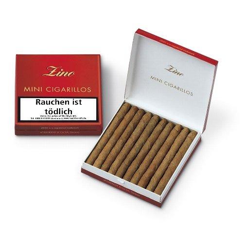Zino Cigarillos Mini Rot 20 Stk