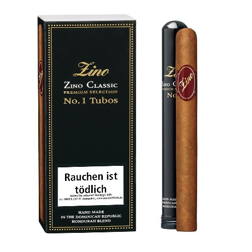 Zino Cigarren Classic No 1 Tubos 3er