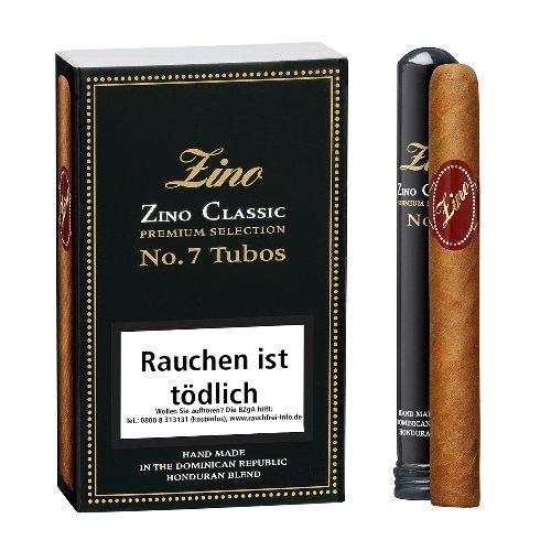 Zino Cigarren Classic No 7 Tubos 4er