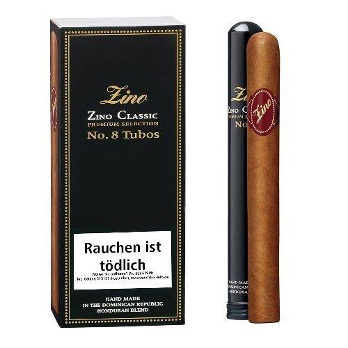 Zino Zigarren Classic No 8 Tubos 3er