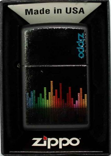 Zippo Feuerzeug Colorful Equalizer