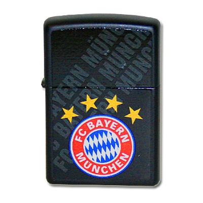 Zippo Feuerzeug FC Bayern Schwarz