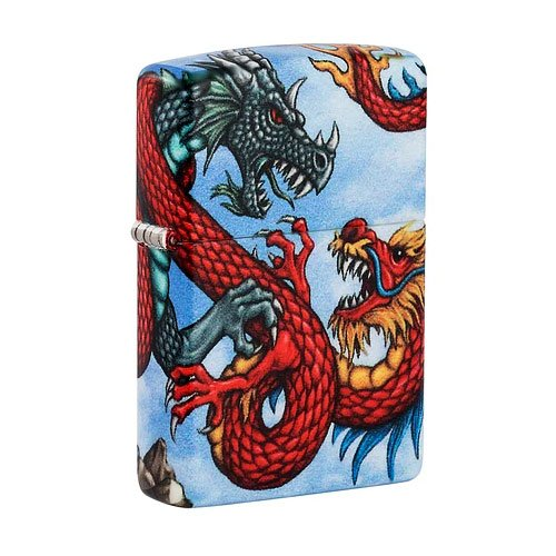 Zippo Feuerzeug Fighting Dragon