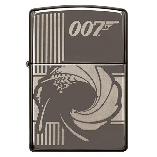 Zippo Feuerzeug James Bond Black Ice