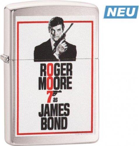 Zippo Feuerzeug James Bond Roger Moore