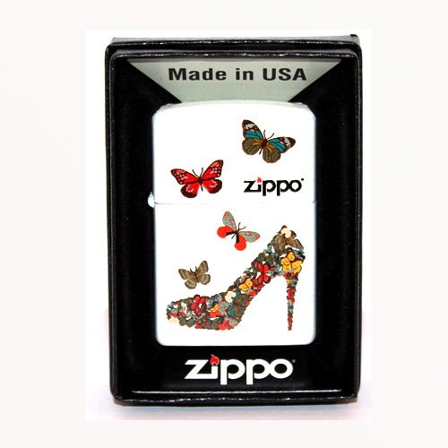 Zippo Feuerzeug Schmetterlinge