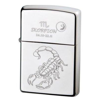 Zippo-Feuerzeug Sternzeichen Skorpion