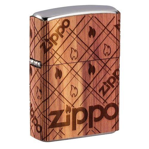 Zippo Woodchuck USA Design Cedar Emblem