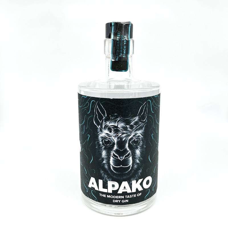 Alpako Dry Gin 43%Vol. 0,5l