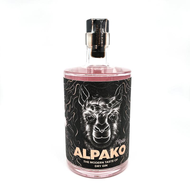 Alpako Dry Gin Rose 43%Vol. 0,5l