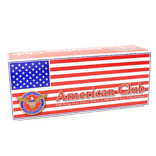 American Club 200 Stück King Size Filterhülsen