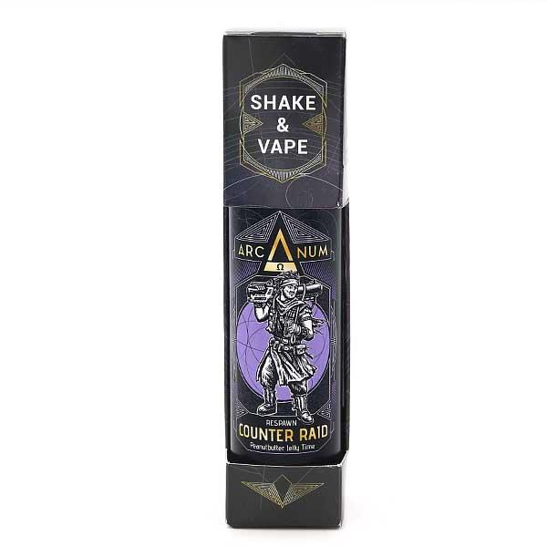 Arcanum Aroma Counter Raid 15ml Erdnussbutter mit Marmelade ohne Nikotin