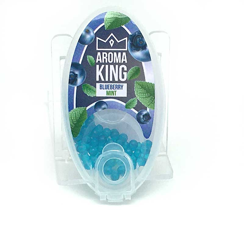 Aroma King Blueberry Mint Aromakapseln 100 Stück mit Stick