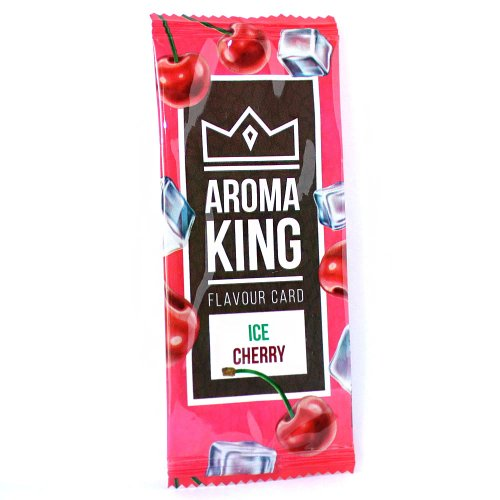 Aroma King Ice Cherry Flavour Card
