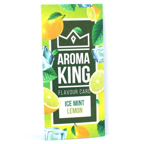 Aroma King Ice Mint Lemon Flavour Card