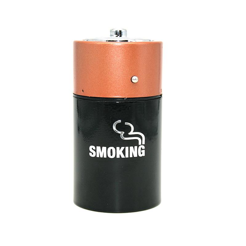 Ascher mit Sprungdeckel Batterie, Motiv Smoking