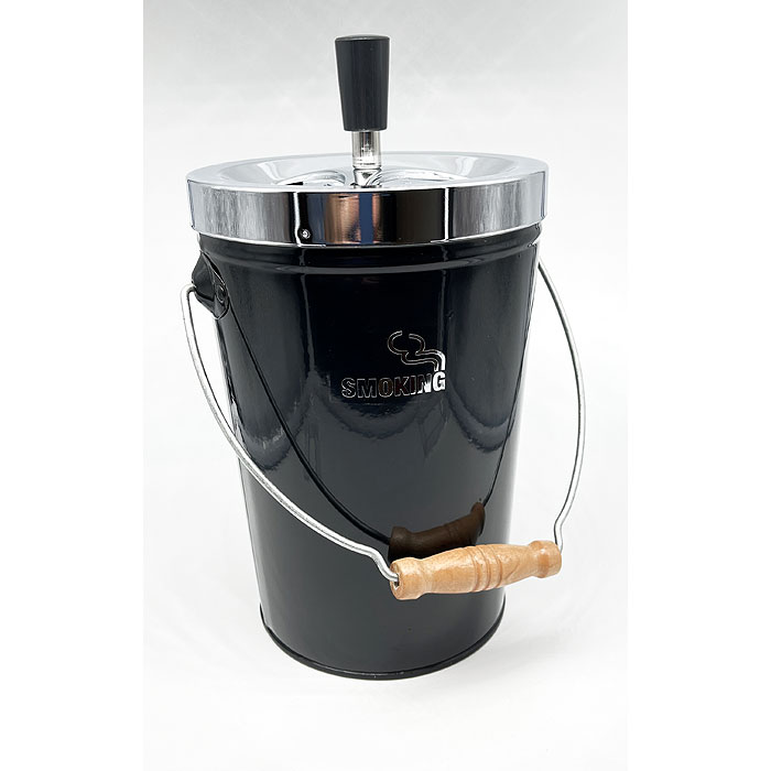 Ascher Smoking - Metall Eimer mit 0,4 Liter Inhalt