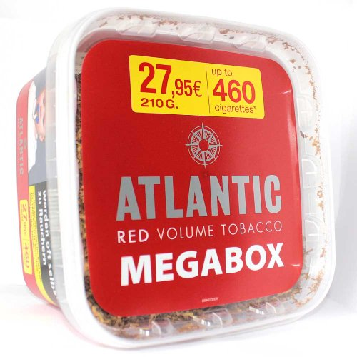 Atlantic Tabak Red 210g Eimer Volumentabak