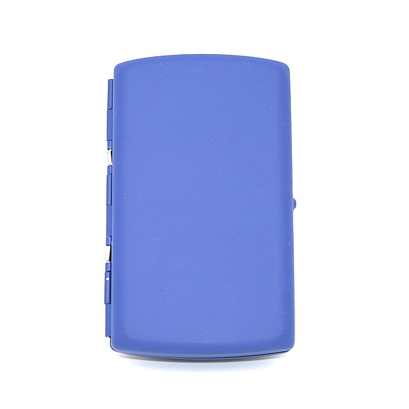 Atomic Zigaretten Box, für 12 Stück, blau