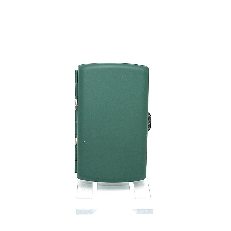 Atomic Zigaretten Box, für 12 Stück, grün