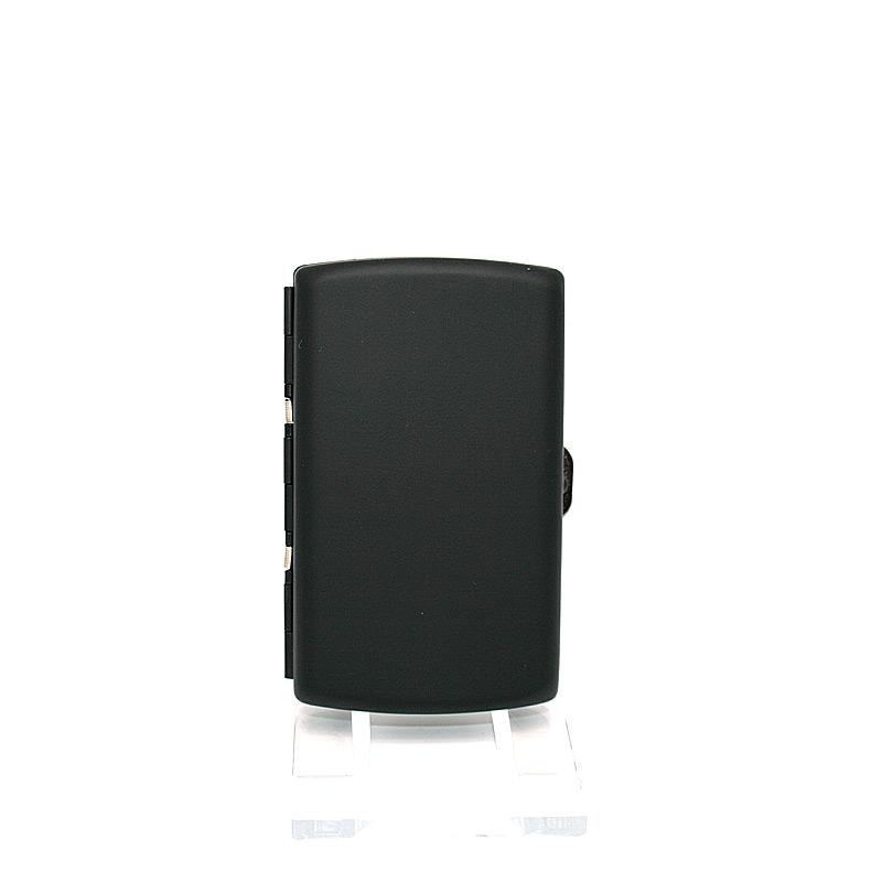 Atomic Zigaretten Box, für 12 Stück, schwarz