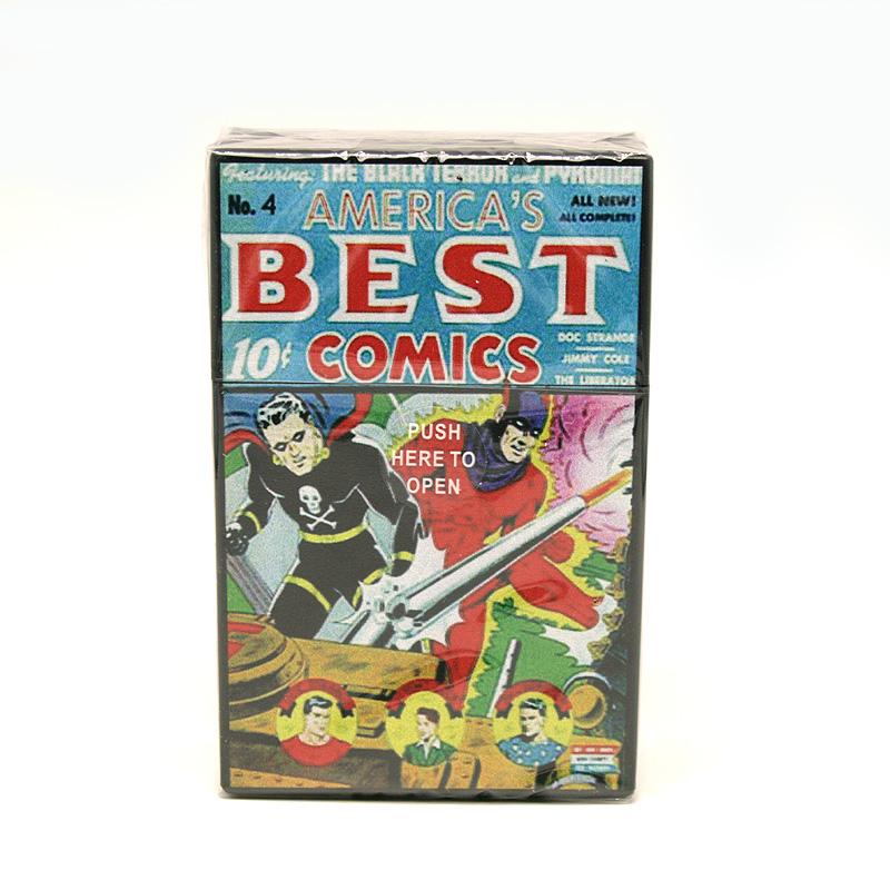 Atomic Zigaretten-Etui 20er Motiv America´s Best