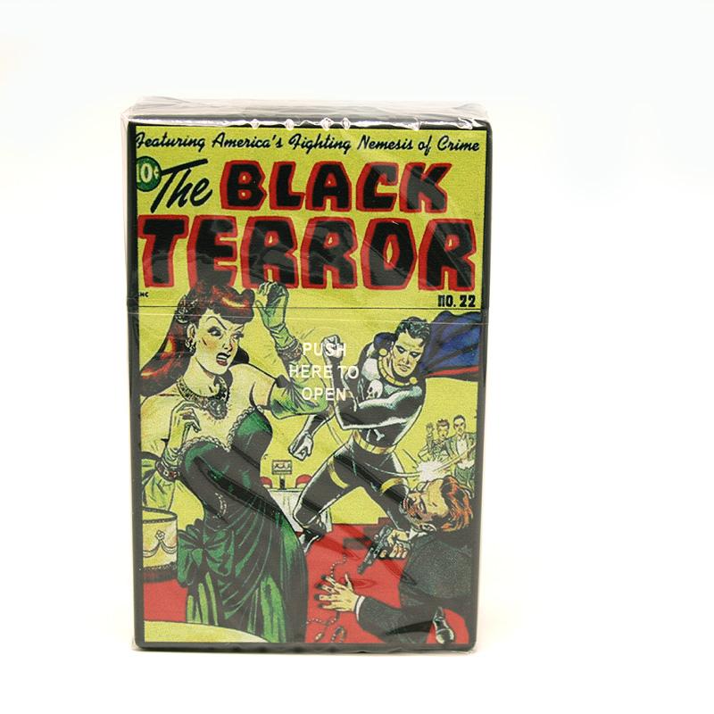 Atomic Zigaretten-Etui 20er Motiv Black Terror