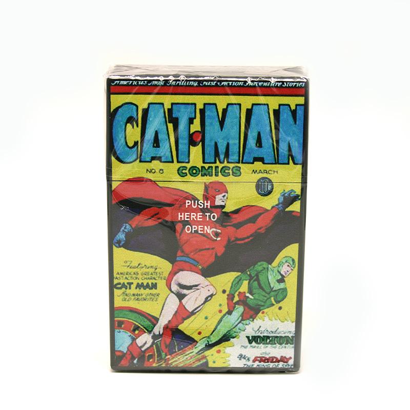 Atomic Zigaretten-Etui 20er Motiv Catman