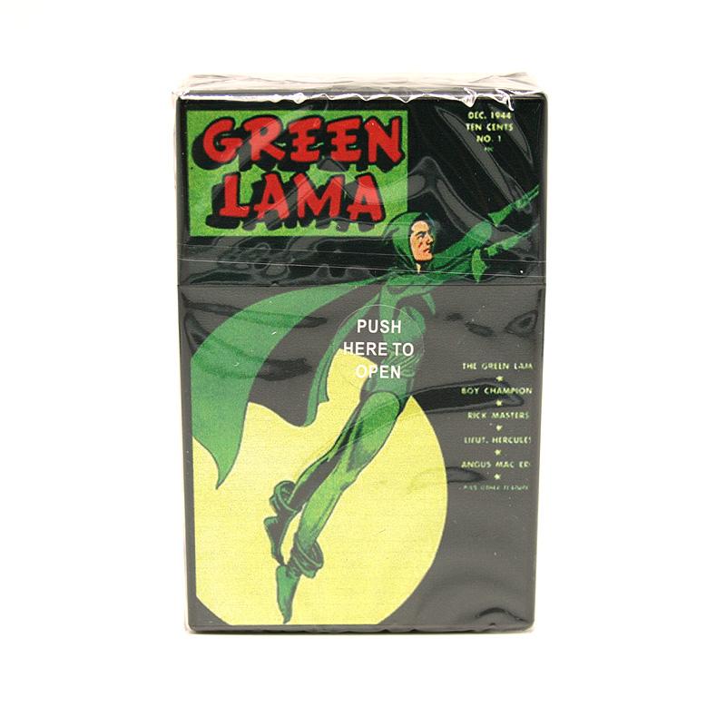 Atomic Zigaretten-Etui 20er Motiv Green Lama