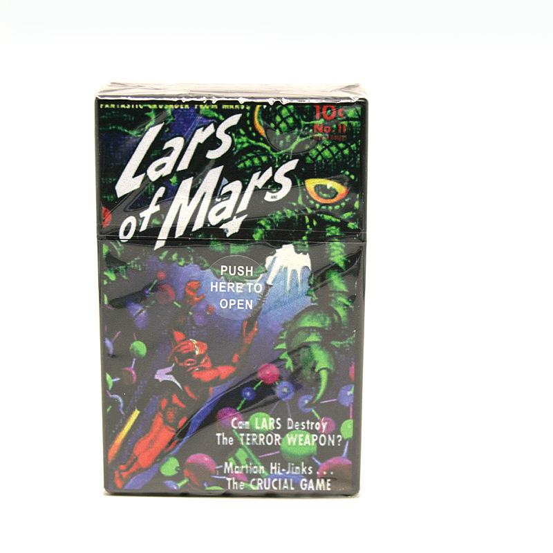 Atomic Zigaretten-Etui 20er Motiv Lars of Mars