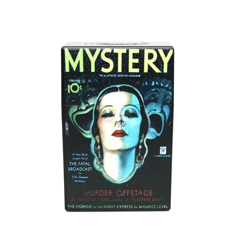 Atomic Zigaretten-Etui 20er Motiv Mystery Murder Offstage