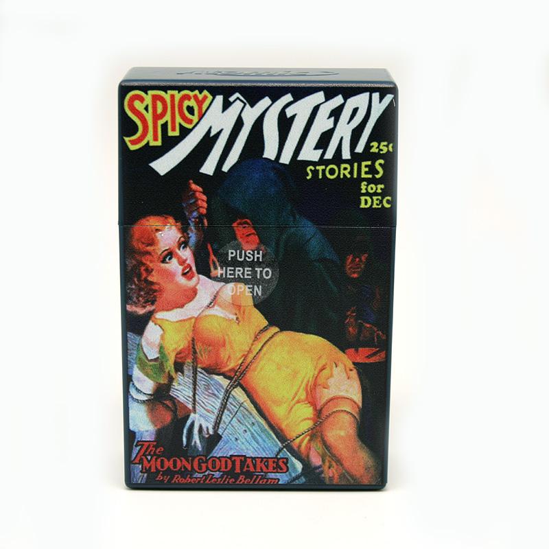 Atomic Zigaretten-Etui 20er Motiv Spicy Mystery Stories of December