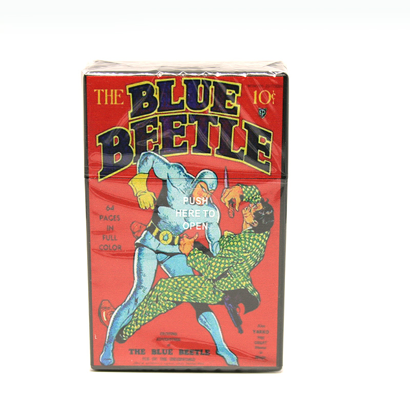 Atomic Zigaretten-Etui 20er Motiv The Blue Beetle