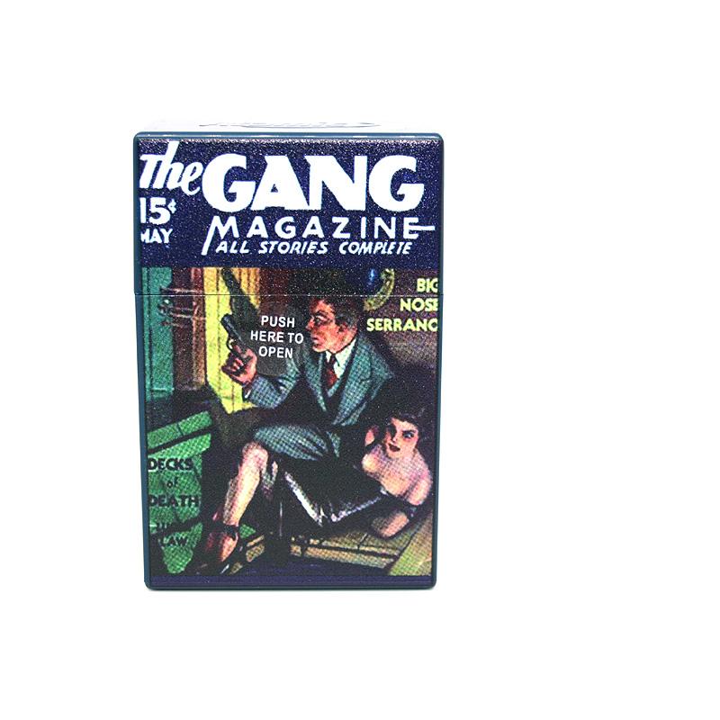 Atomic Zigaretten-Etui 20er Motiv The Gang Magazine Decks of Death