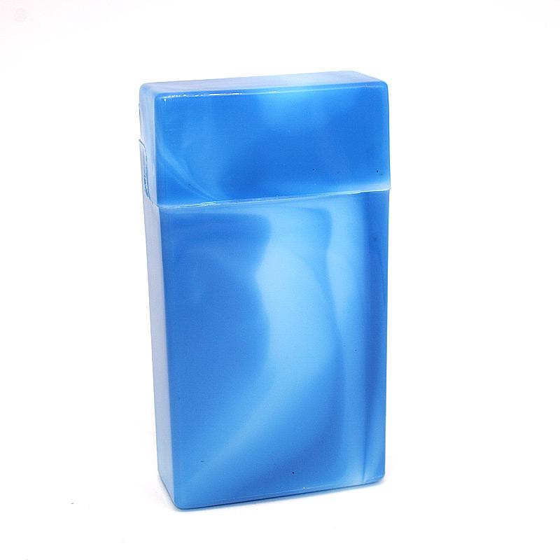 Atomic Zigarettenbox 100mm Format Blau