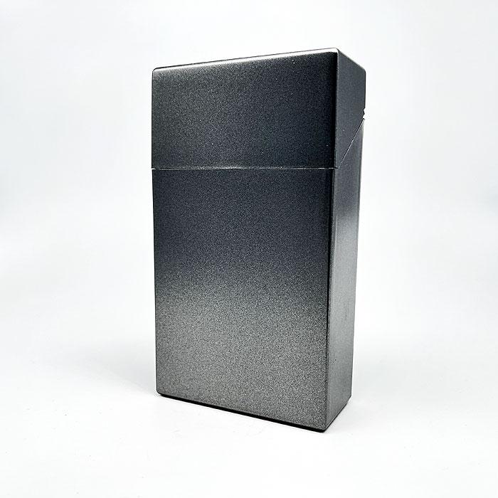 Atomic Zigarettenbox 100mm Format Grau