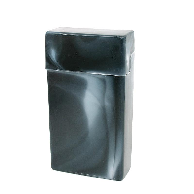 Atomic Zigarettenbox 100mm Format Schwarz