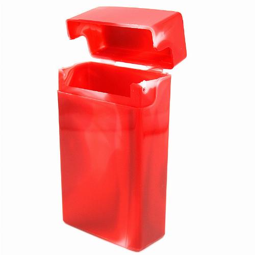 Atomic Zigarettenbox 100mm Format Rot
