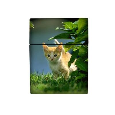 Atomic Zigarettenbox 25er Motiv Katze im Gras